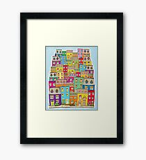 Way Downtown  Framed Print