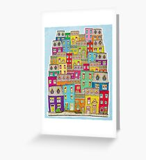 Way Downtown  Greeting Card