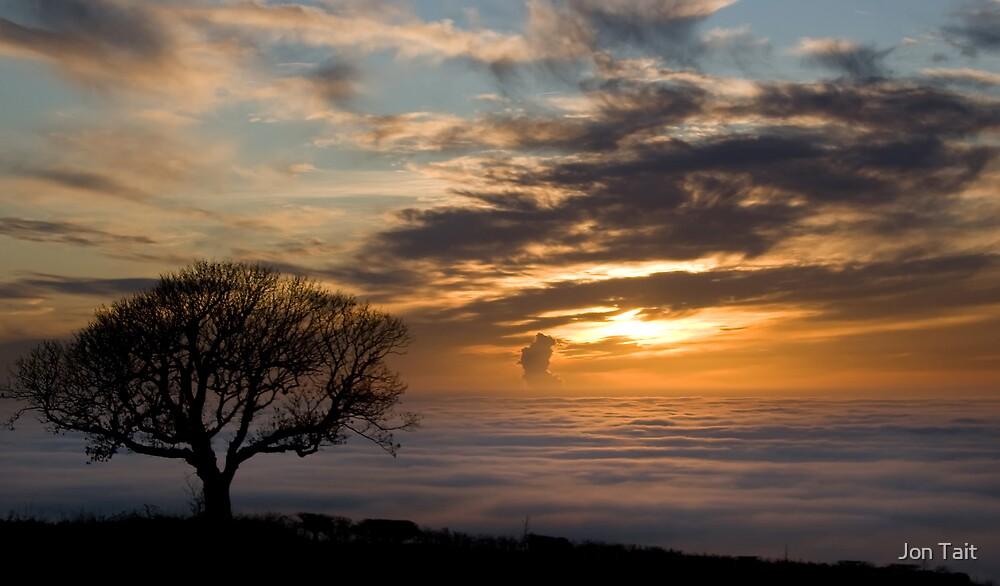 Foggy View by Jon Tait
