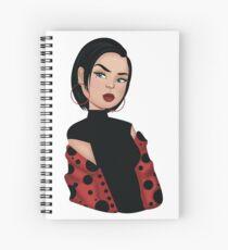 Ladybug 2 Spiral Notebook