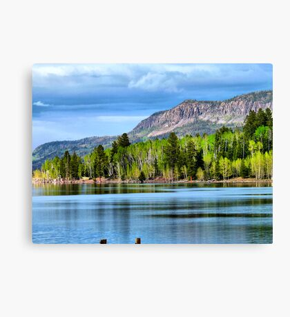 Yankee Lake 4 Canvas Print