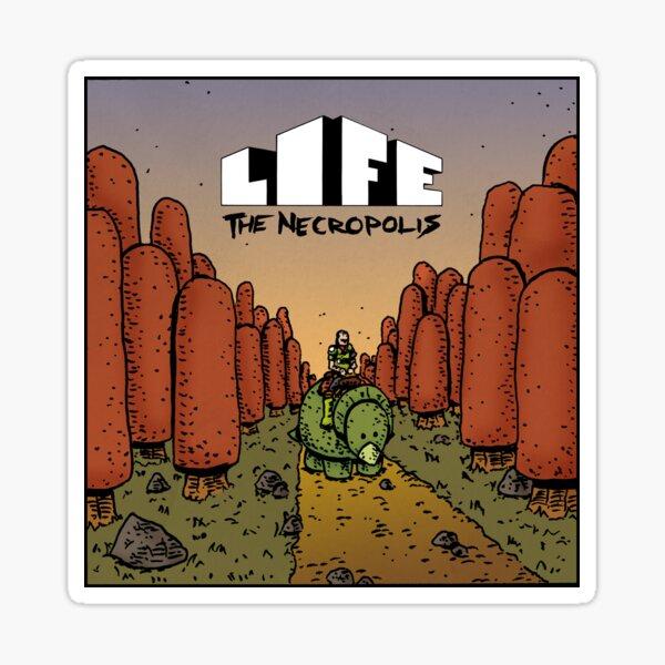 Life The Necropolis: Pokey Sticker