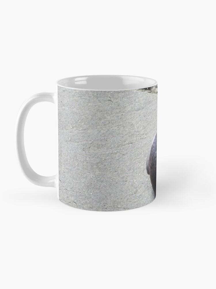 Alternate view of Majestic pigeon resting  Mug