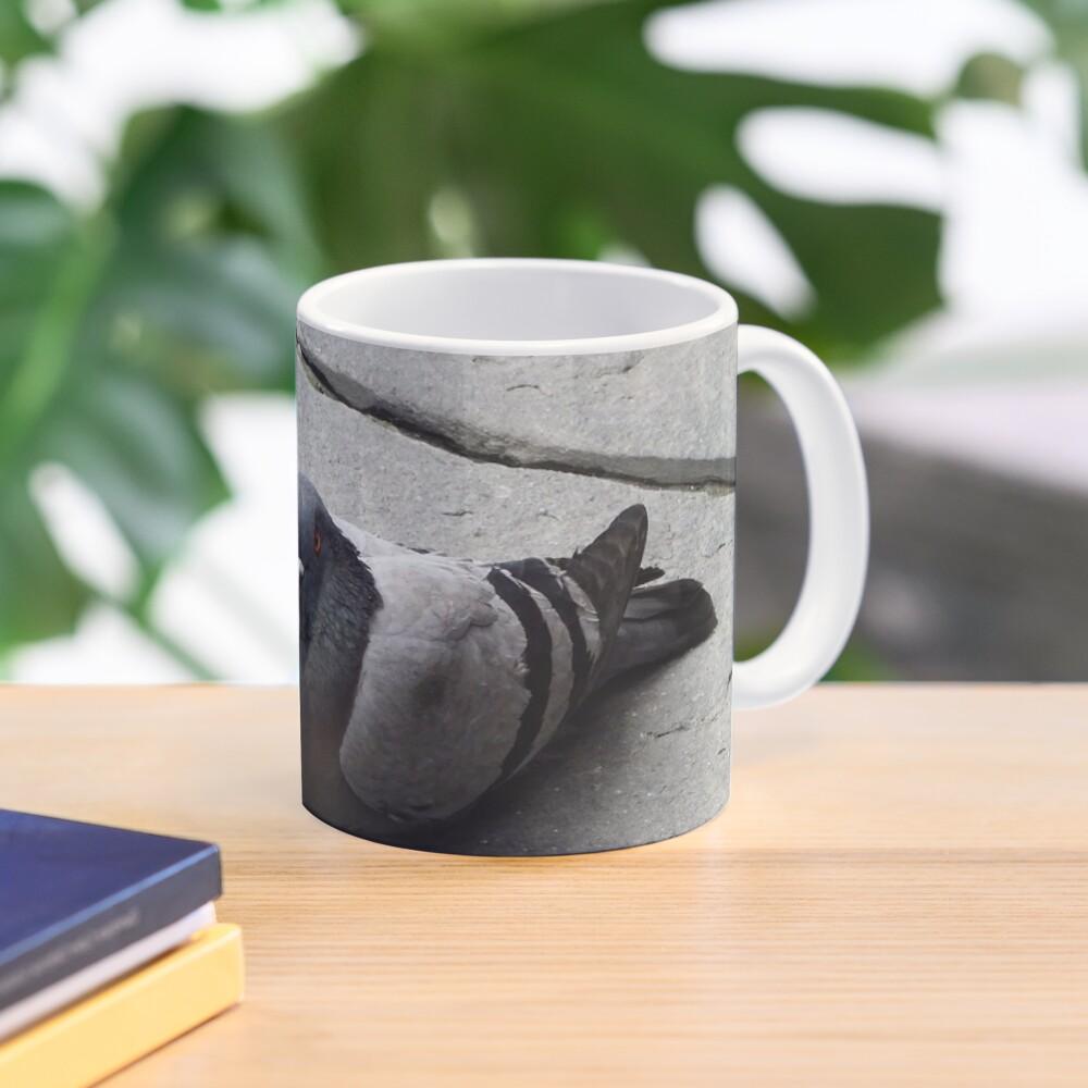 Majestic pigeon resting  Mug