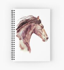Beautiful Bay Horse Spiral Notebook