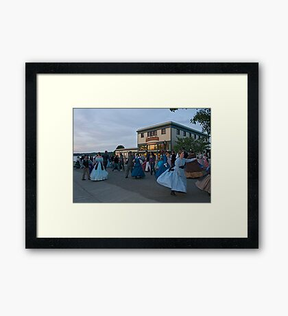 Dancing in the Street Framed Print