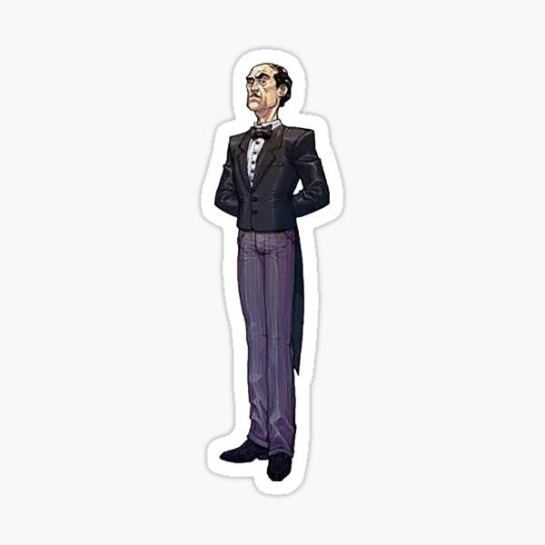 Alfred Pennyworth - Arkham Asylum Character Bio Sticker