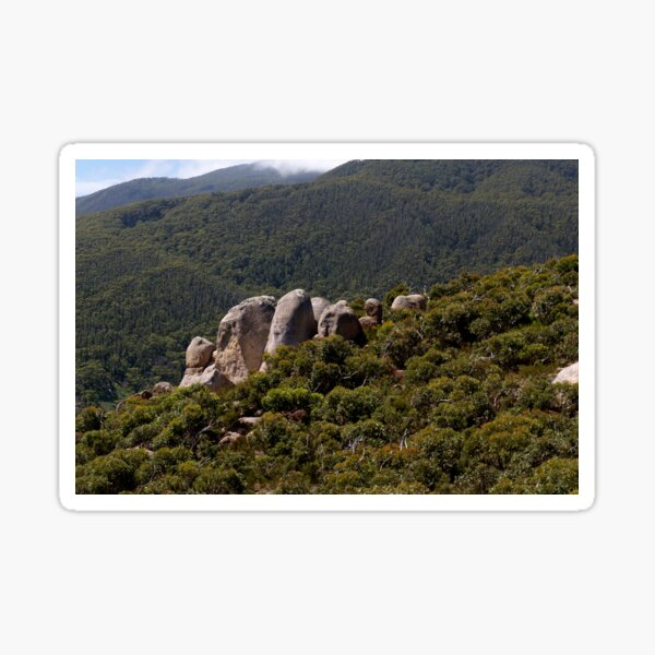Rock Outcrop Mt Oberon Sticker