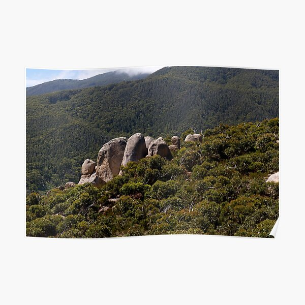 Rock Outcrop Mt Oberon Poster