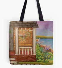 Cottage Life Tote Bag