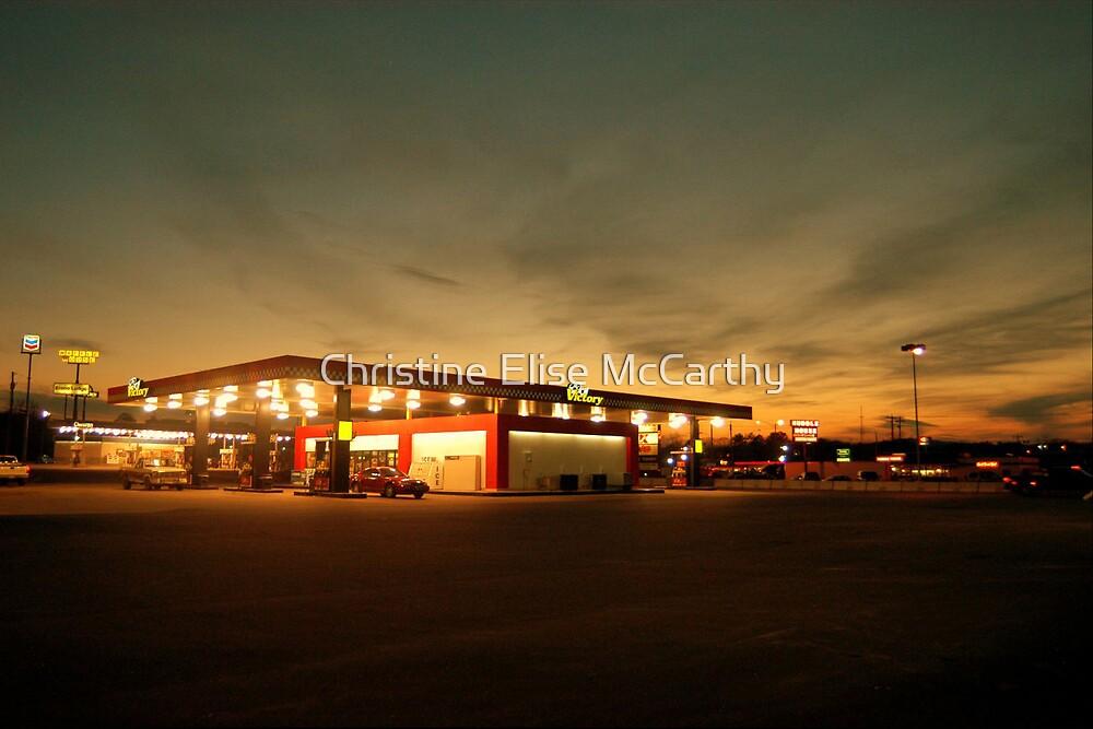 Alabama Filling Station by Christine Elise McCarthy
