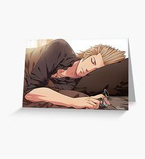 Daytime Nap Greeting Card