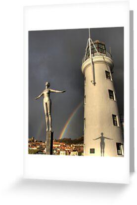 Scarborough Lighthouse by Jon Tait
