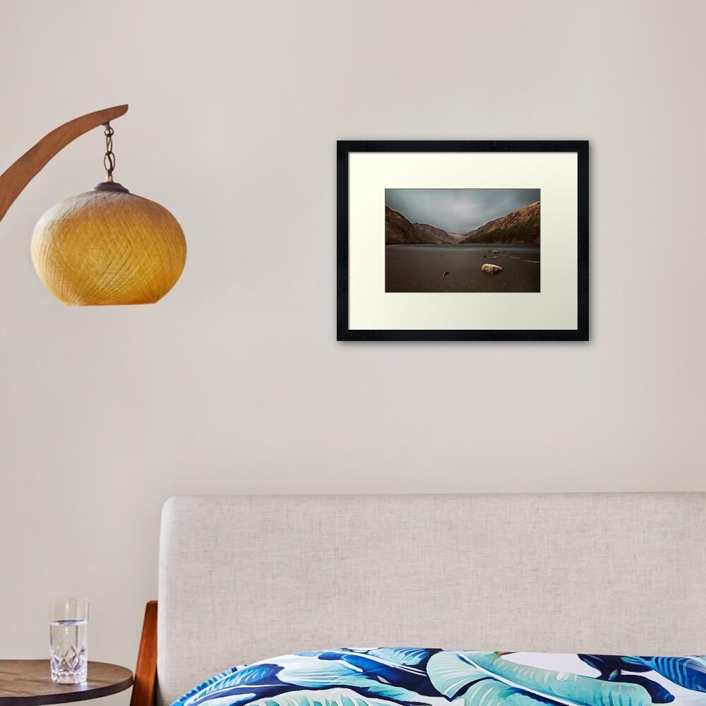 Glendalough Framed Art Print