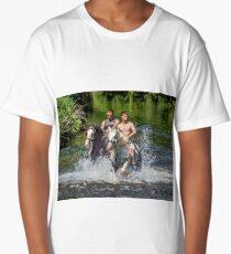 Gypsies at Appleby Horse Fair Long T-Shirt