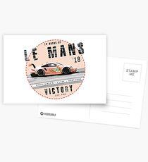 24H 2018 - GTE Pro Postcards