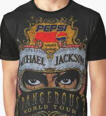 King Of Pop Graphic T-Shirt