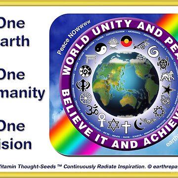 WORLD UNITY AND PEACE by EarthRepair