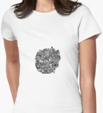 Lost In One's Mind Women's Fitted T-Shirt
