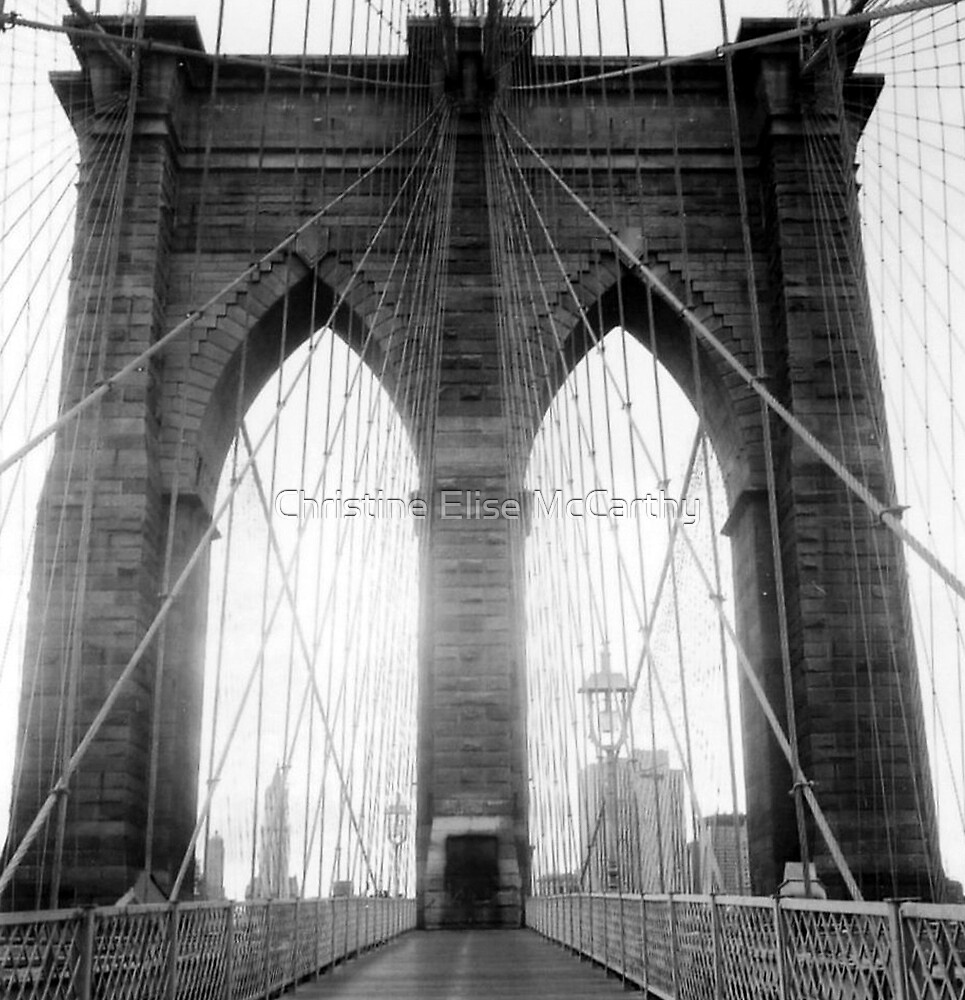 Brooklyn Bridge by Christine Elise McCarthy
