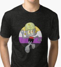 Robot Jones - Nonbinary Pride Tri-blend T-Shirt