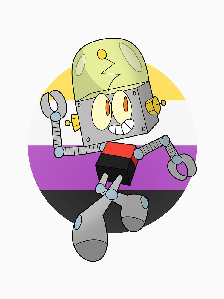 Robot Jones - Nonbinary Pride by tehlu9prod