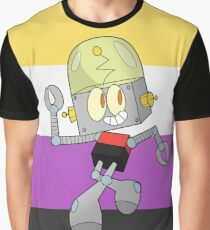 Robot Jones - Nonbinary Pride Graphic T-Shirt