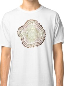 Tree Rings – Watercolor Classic T-Shirt