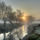 Misty Sunrise by Martin Griffett