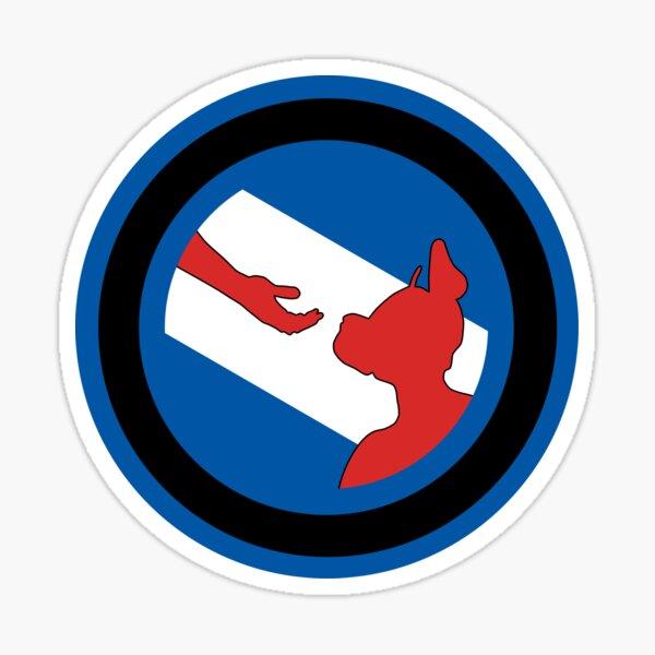 Offizielle Welpen- und Handler-Stolz-Flaggen-Waren Sticker