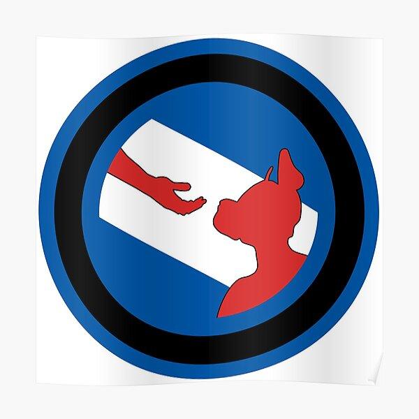 Offizielle Welpen- und Handler-Stolz-Flaggen-Waren Poster