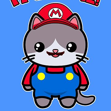 Cat Cute Funny Kawaii Mario Parody by awesomekawaii