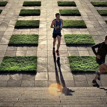 The Runners - Colour Version by Josh76