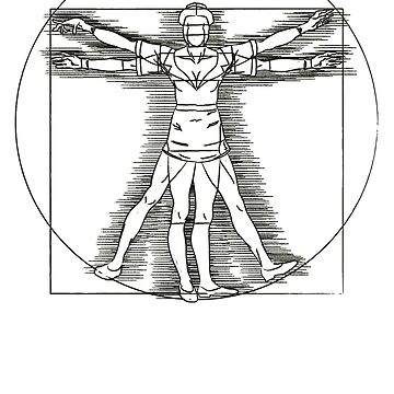 Vitruvian Nurse by astraga
