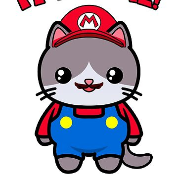 Kawaii Cat Cute Funny Mario Parody by awesomekawaii