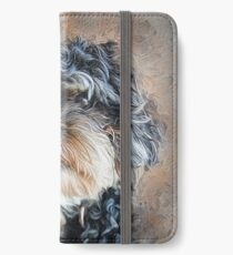 Ted The Cockapoo iPhone Wallet/Case/Skin