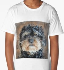 Ted The Cockapoo Long T-Shirt