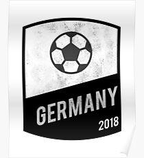 Póster Equipo de Alemania - Copa del Mundo - Rusia 2018 9d0aca41df4fd