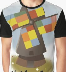 Netherlands travel poster Graphic T-Shirt