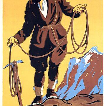 Gindelwald, Alpinist, Switzerland by AmorOmniaVincit