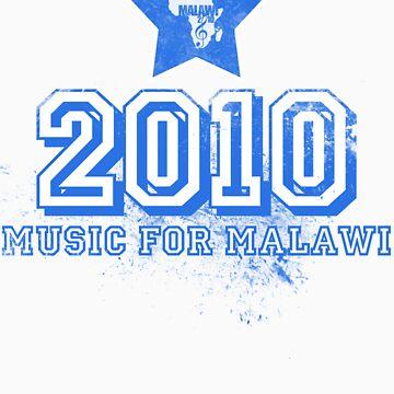 Old School Retro 2010 Blue by MusicForMalawi