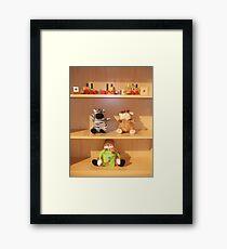 Toys child Framed Print