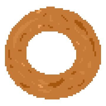 Pixel Onion Ring by Zeeph