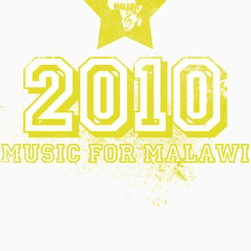 Old School Retro 2010 Yellow by MusicForMalawi
