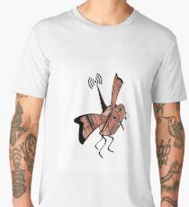 Radio controlled, robot fly, mini drone, Ornithopter Men's Premium T-Shirt