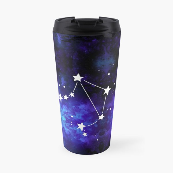 Libra Galaxy Travel Mug