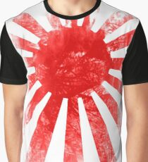 Japan Rising Sun Graphic T-Shirt