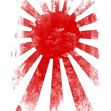Japan Rising Sun by valsymot