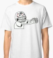 Angry Feelings Cartoon   Classic T-Shirt