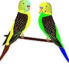 Parrot Shirt /Parrot Clothing/Parrot Accessories by monsur